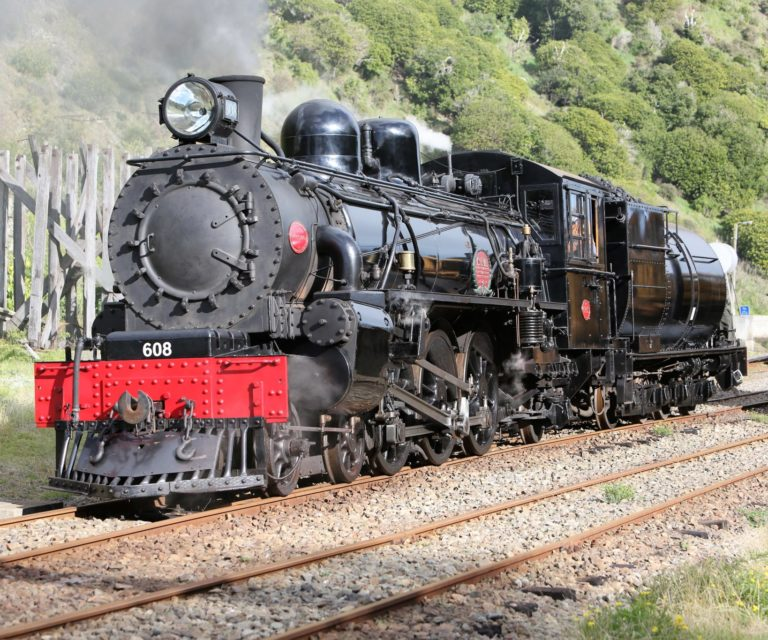 "VIDEO: Marlborough Flyer Locomotive Ab608, ""Passchendaele"" In Action"