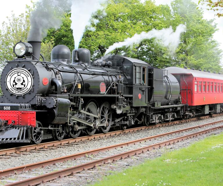 Marlborough Flyer Steam Train Excursions
