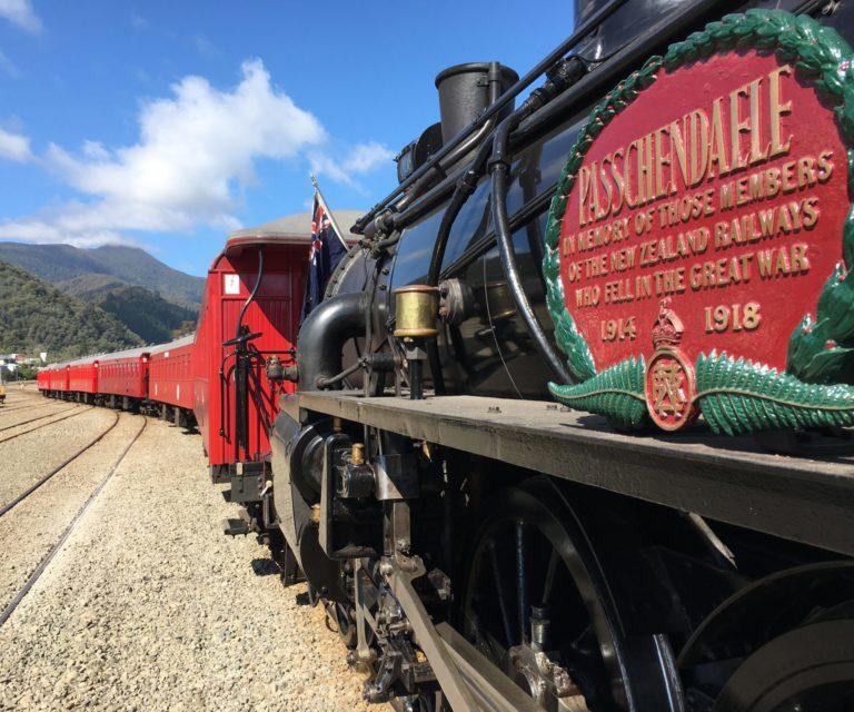 Full Steam Ahead To Seddon